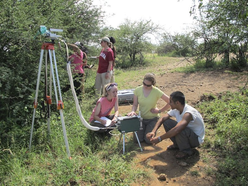 Field Ecohydrology at Mpala